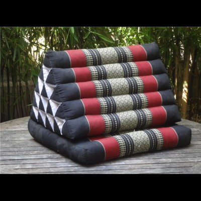 Coussin traditionnel 5 boudins 1 volant