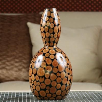 "Vase Quille ""Rondins"""
