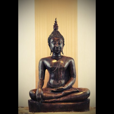 Bouddha Sukhothaï Bhumisparsa