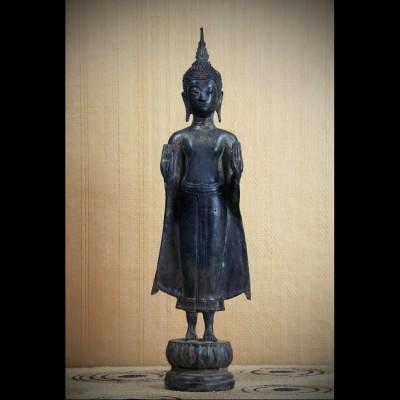 Bouddha U-Thong Abhaya Mudra