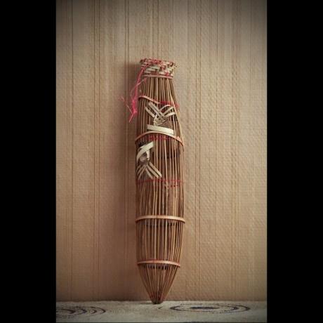 Nasse de pêche décorative (PM)