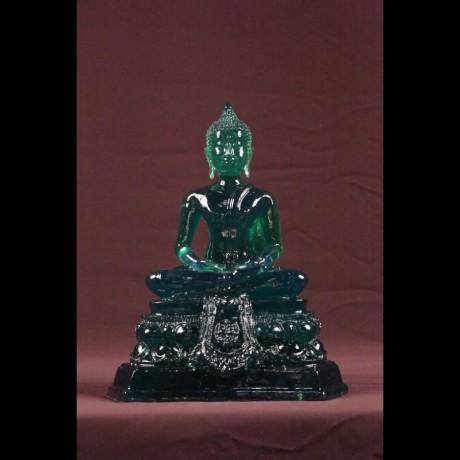 """Bouddha """"Dhyani-Mudra"""" MF Vert"""