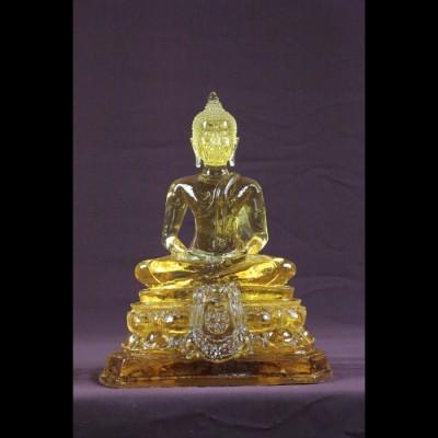 """Bouddha """"Dhyani-Mudra"""" MF Jaune"""