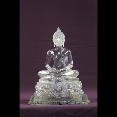 "Bouddha ""Dhyani-Mudra"" MF Blanc"