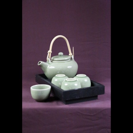 Service à thé d'Asie