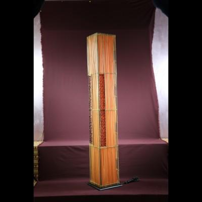 Colonne lumineuse Bambou Orange